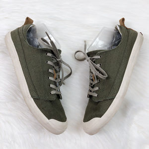 [REEF] Walled Low Lace Up Canvas Sneakers